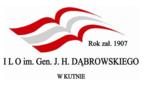 I LO im. Gen. J.H. Dąbrowskiego w Kutnie