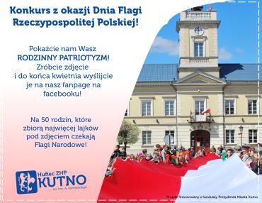 Konkurs z okazji Dnia Flagi Rzeczypospolitej Polskiej!