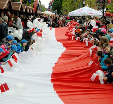Dzień Flagi Rzeczypospolitej Polskiej!